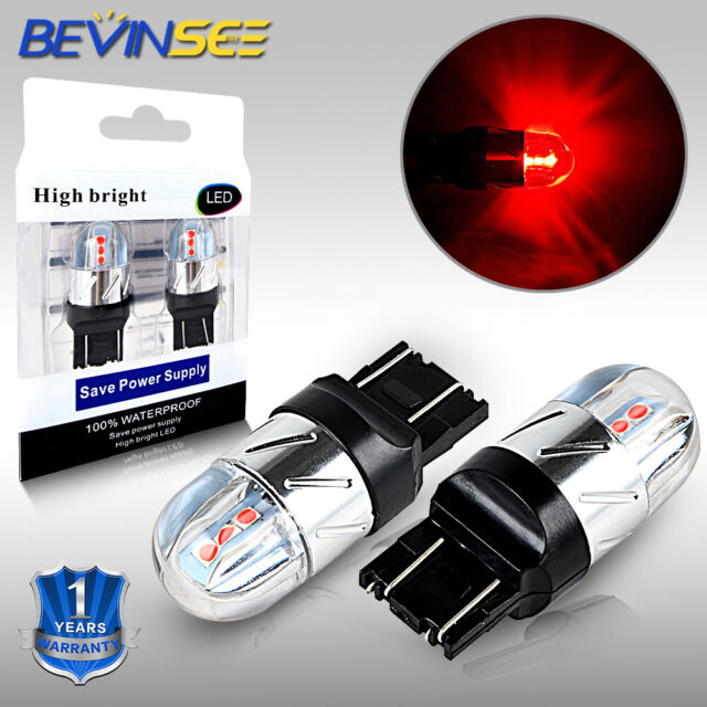 T20 7443 LED Brake Turn Signal Tail Light Bulb For Honda
