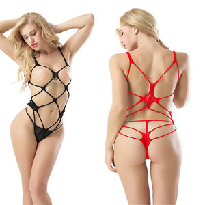 Image Is Loading Sexy Lingerie Sleepwear Women  S G String Girl