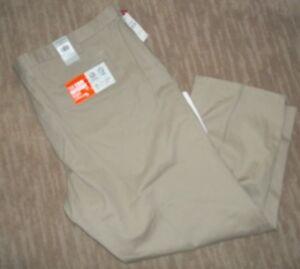 Dockers Mancha Defender Arruga Pantalones Tipo Chino Caqui Resistir Tan Grande Para Hombre 58 X 32 Nuevo Ebay