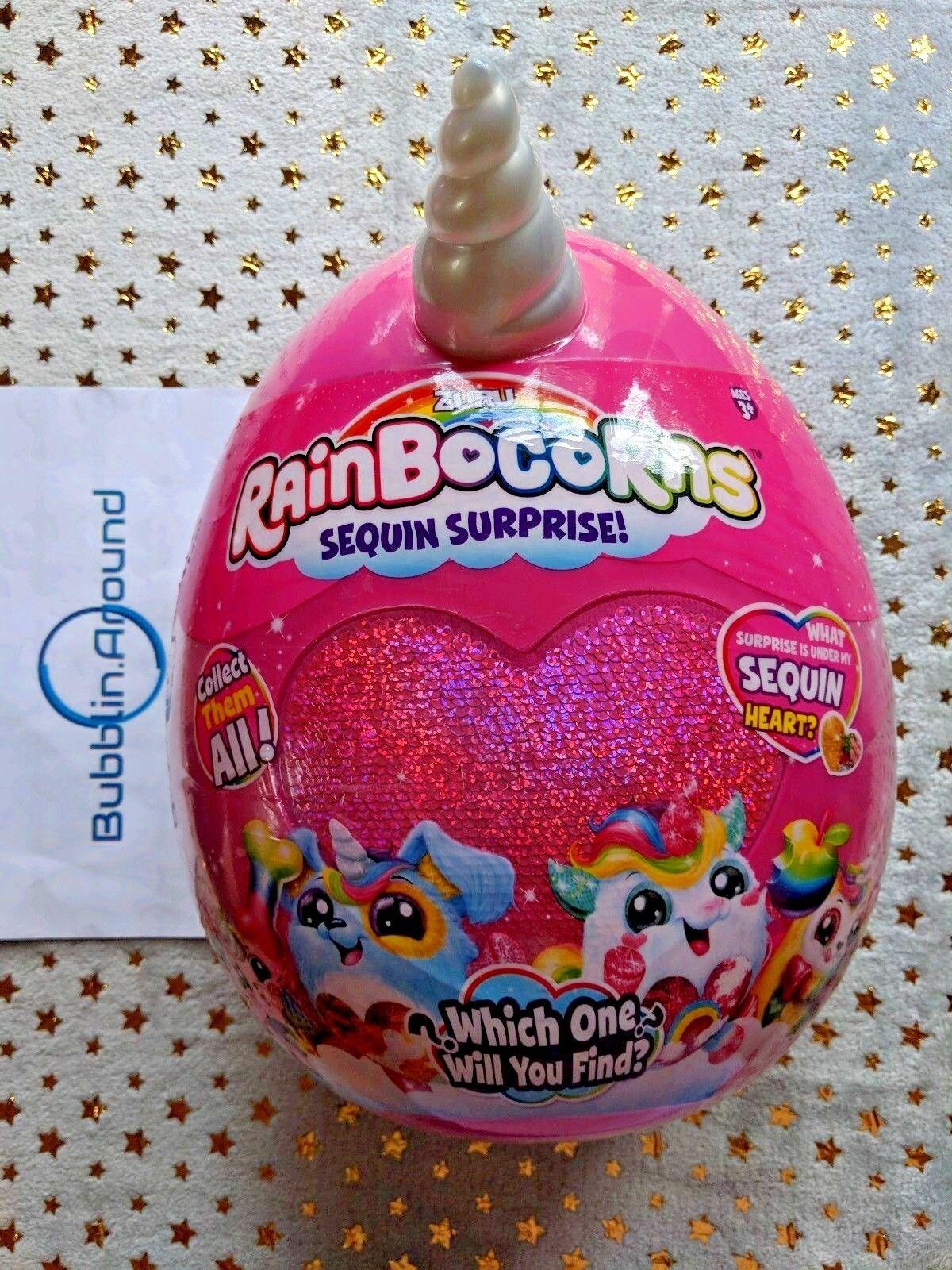 Rainbocorns Sequin Surprise - Sparkool - Hot Rosa Unicorn Rainbocorn
