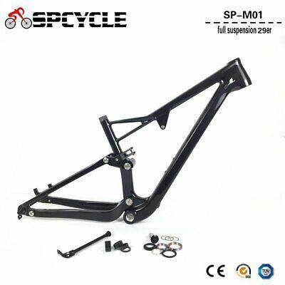 29er Carbon MTB Bicycle Frame T1000 Carbon Mountain Bike Frame 142*12mm BSA 73mm