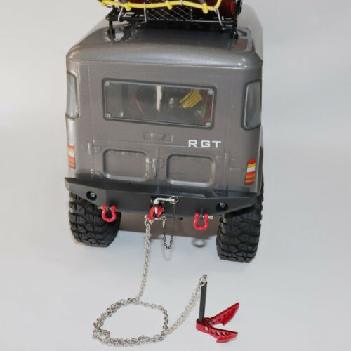 RC Crawler Winch Anchor w// Hook Chain for Axial SCX10 D90 D110 Accessories