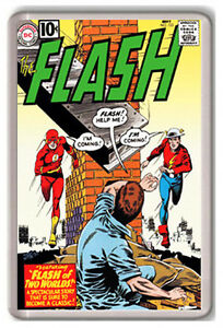 THE FLASH Nº 123 DC COMIC FRIDGE MAGNET IMAN NEVERA I6zxEUBI-09160734-976323092