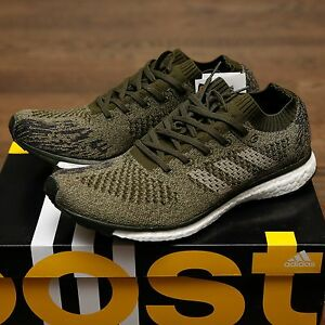 sports shoes 135f7 c98ac Image is loading Adidas-BOOST-Adizero-Prime-LTD-Trace-Night-Cargo-