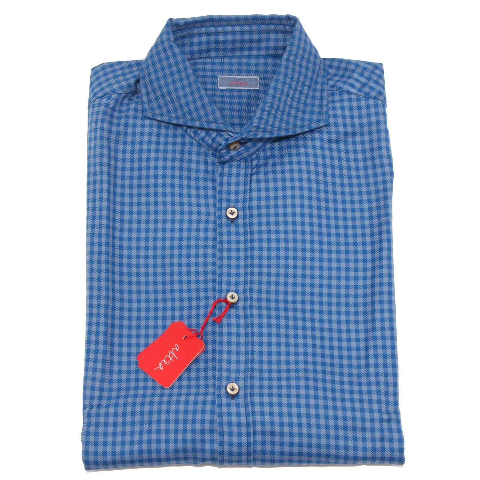 2521P camicia uomo quadretti ALTEA camicie  shirt men