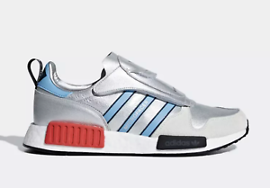 separation shoes e9ab4 04cb4 Details about NEW! adidas Originals MICROPACER XR1 NMD SHOES BOOST G26778  Silver Metallic n1
