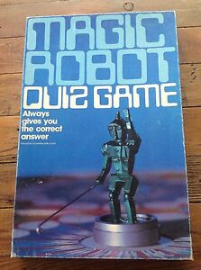 MAGIC-ROBOT-RETRO-VINTAGE-GAME-holds-worth-And-Sons-Mande-In-New-Zealand