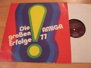 LP Various Die grossen Erfolge 77 Weißes Boot Oh Lady Vinyl Amiga DDR 8 55 566
