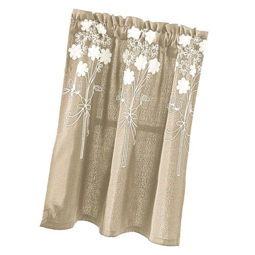 3 Size Option Flower Window Balloon Curtain Tie-up Shade Blind Small Window