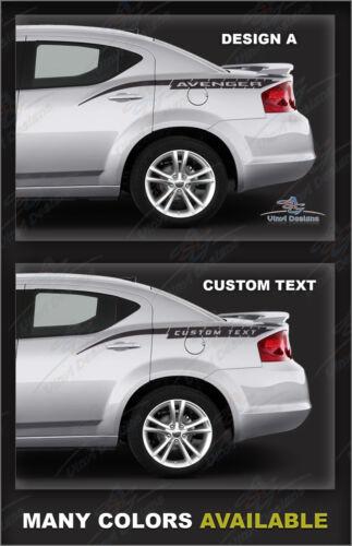 Avenger Stripe Kit 2008 2009 2010 2012 2013 2014 2015 Custom Text