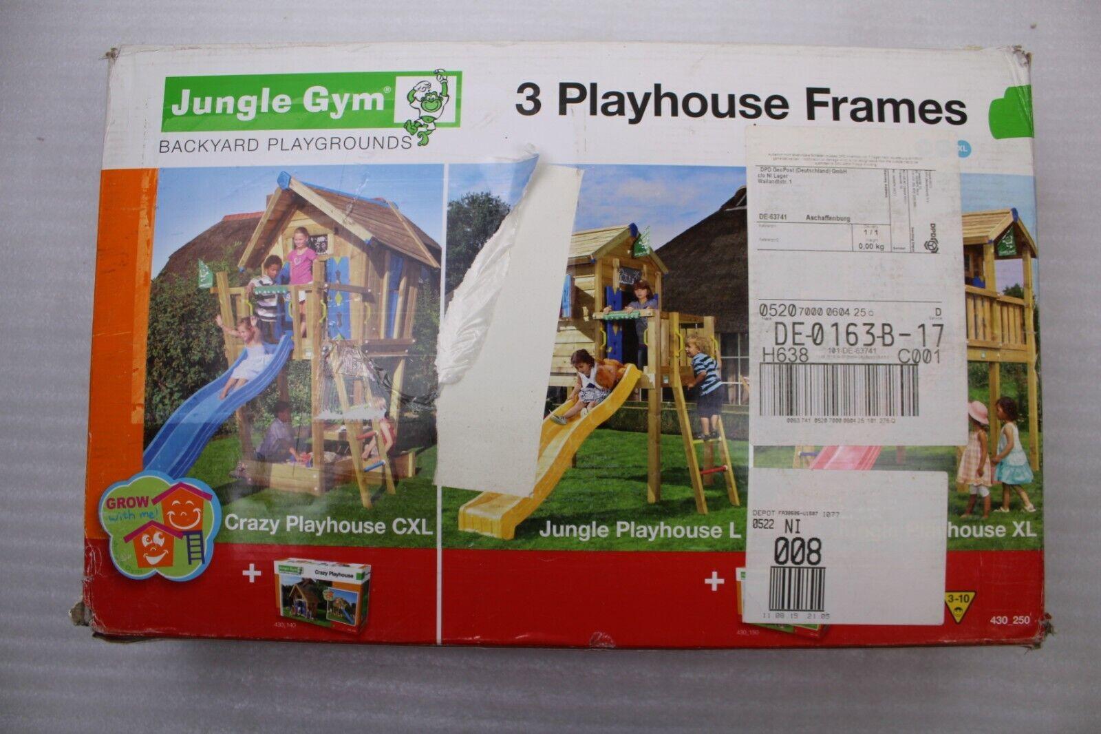 Jungle Gym 2 Casa de Juegos Marco Accesorio Kit 430250 para Cxl   L XL Nuevo