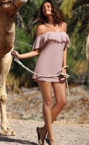 MARKO-Mini-robe-sexy-de-plage-transparente-tunique-femme-taupe-4614-JULIET