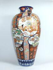 Museale Bodenvase Vase Imari Japan Meiji