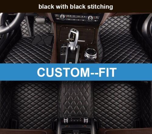 Car Floor Mats for BMW 7 Series Li //750Li 2014-2018 Waterproof Car Mats Carpets
