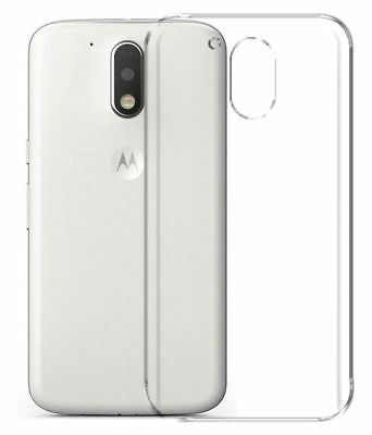 For Moto G4 Plus Transparent Soft Silicon TPU Back Cover Case