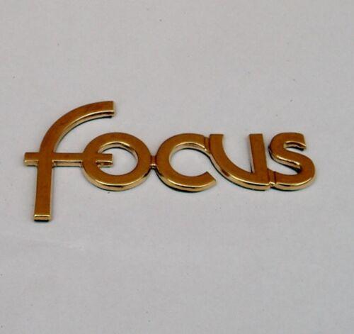 """nuevo Ford Focus MK1 /""""Gold Niquelado/"""" Badge"""