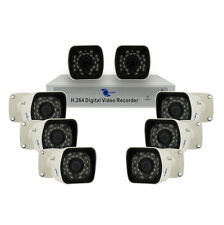 "LineMak 8 Camera kit, 1/4"" HD CCD Sensor, 700TVL, IP67 with 8CH DVR H264, D1/CIF"