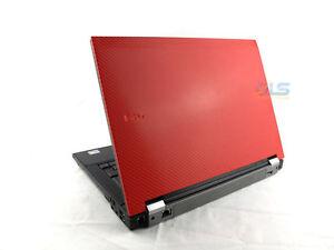 WINDOWS-7-RED-Dell-Latitude-14-1-034-Laptop-Core-2-Duo-2GB-RAM-WiFi-Warranty