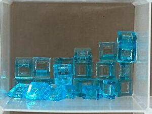 LEGO Parts QTY 20 White Slope 30 1 x 1 x 2//3 No 54200