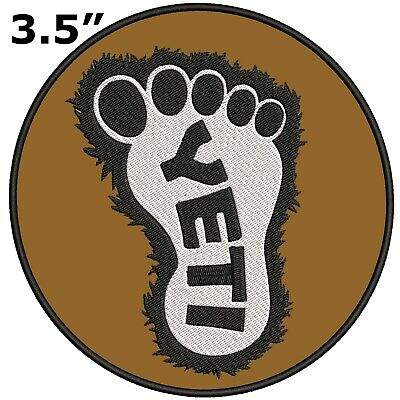 Iron on Sasquatch in the Forest Bigfoot Lives Patch