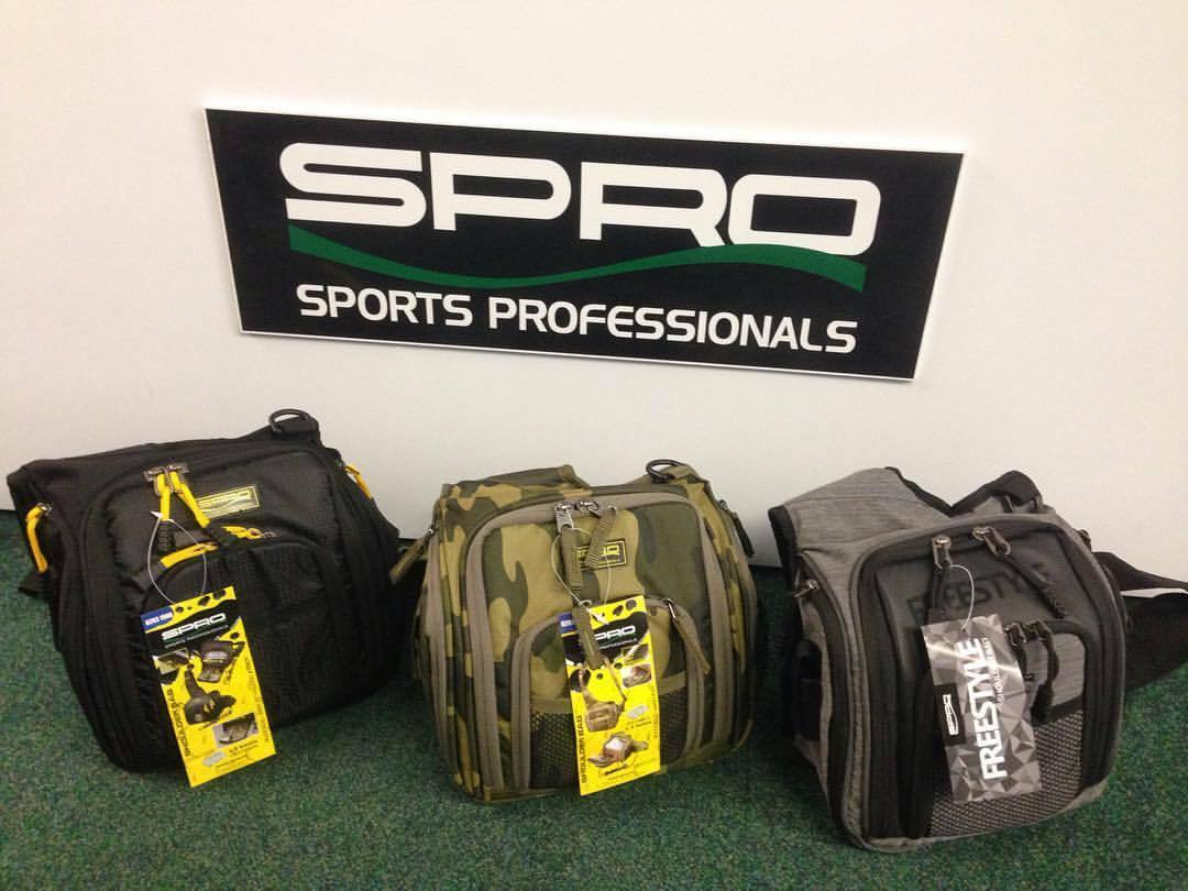 Spro Shoulder Sling Bag - Lure Fishing (with  2 x Lure Boxes) predator pike lrf  save 60% discount and fast shipping worldwide