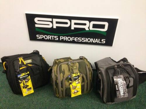 Spro Shoulder Sling Bag with 2 x Lure Boxes predator//pike//lrf Lure Fishing