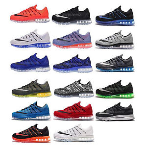 dcf7ce6ca56d7 Nike Air Max 2016 Swoosh Mens Running Jogging Shoes Sneakers ...