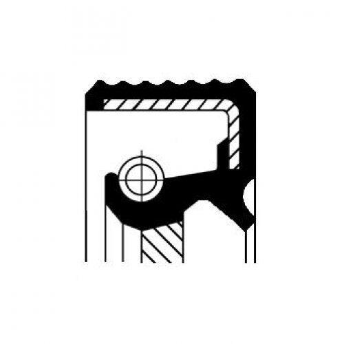 CORTECO Shaft Seal, transfer case 01035173B