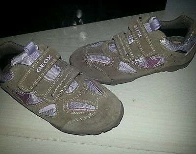 Geox Mädchen Klettverschluss Schuhe gr. 34 wNeu