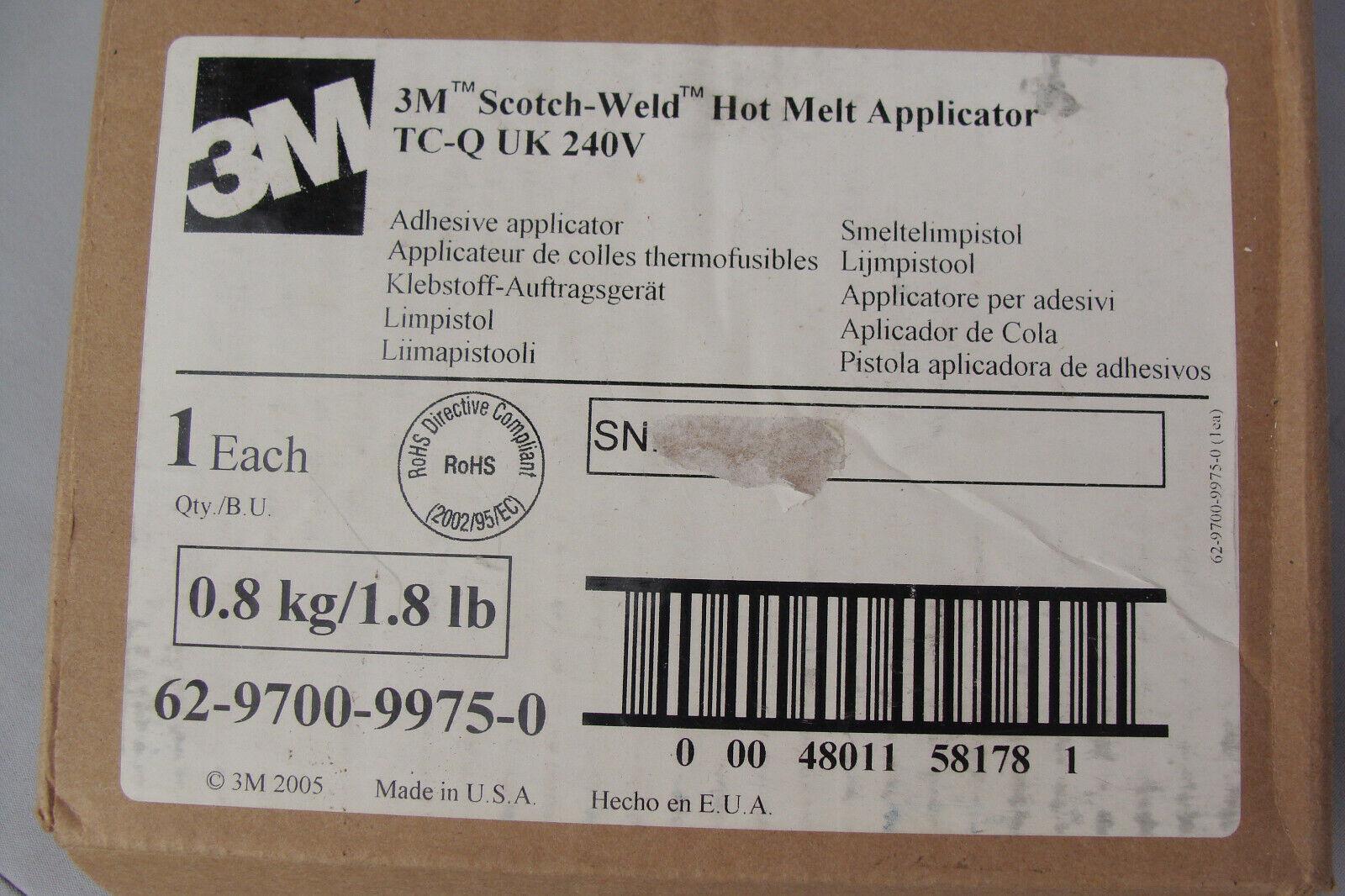 3M SCOTCH-WELD HOT MELT APPLICATOR TC w/QUADRACK & PALM TRIGGER