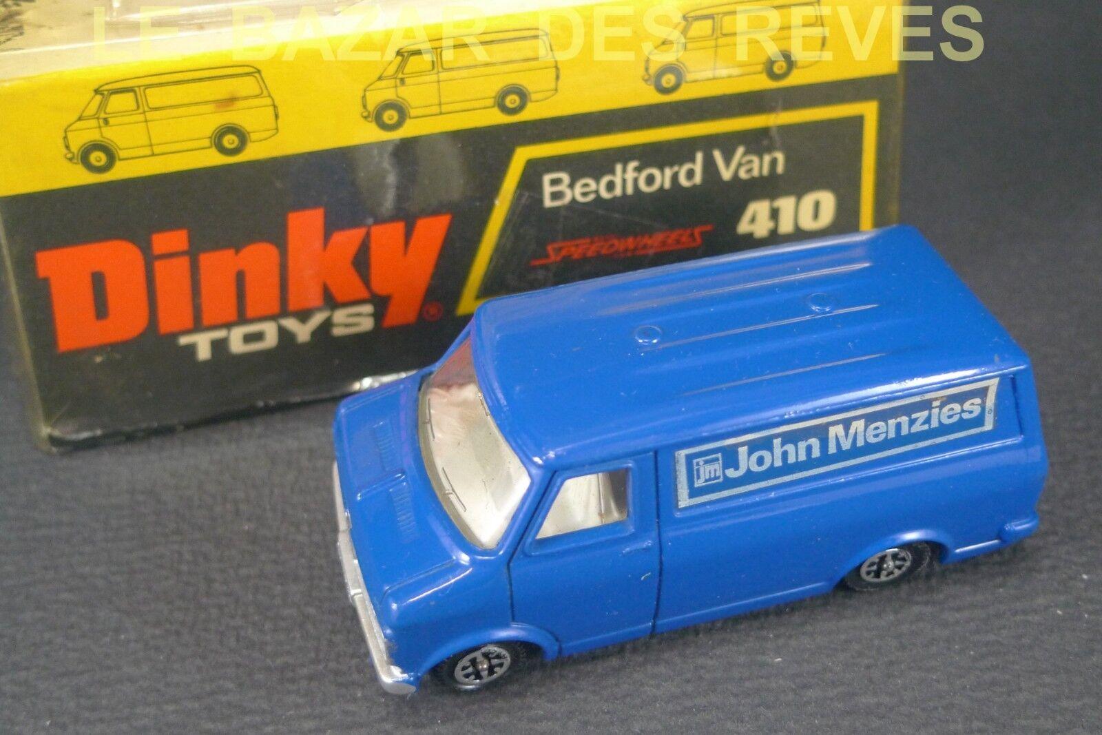 Dinky toys gb. bedford john menzies. ref  410. + box.