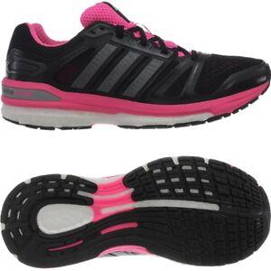 Details zu Adidas Supernova Sequence 7 Damen-Laufschuhe schwarz-pink  Jogging Running NEU