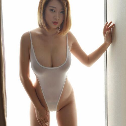 Bodysuit Leotard Mesh Thong Sheer Women/'s Lingerie Perspective See-through Suit