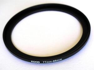 Step-Up-Adattatore-77mm-86mm-DIMENSIONAMENTO-anello-77mm-to-86mm-77-86-Filtro