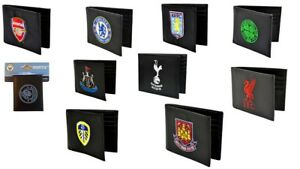 Football-Club-Official-Wallets-PU-Embroidered-Arsenal-Chelsea-Liverpool-Spurs
