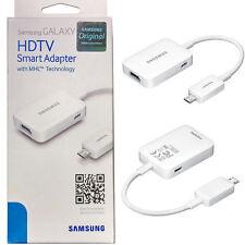 Genuine Original OEM Samsung HDMI Adapter Galaxy S3 S4 S5 Note 4 Edge MHL HDTV