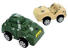 Scatola da 48 Pullback Serbatoi E Jeep - Nuovo Giocattoli Tascabili