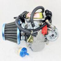 Performance Carburetor W/ Filter Manco Helix Carbide Zircon 150cc Go Kart Carb