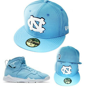 Details about New Era NCAA North Carolina Tar Heels Classic Fitted Hat Air  Jordan 7 UNC Cap 8ffcc5a23d15