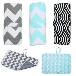 Portable Baby/'s Soft Padded Deluxe Large Baby Changing Mat Waterproof Foldable