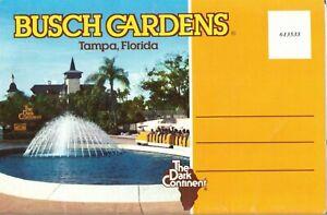BUSCH GARDENS The Dark Continent Pinback Vintage 1980/'s Tampa Florida