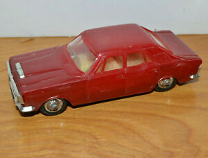 VINTAGE-PLASTIC-TOY-CAR-HONG-KONG-4-034-LONG-1960-039-S-NICE