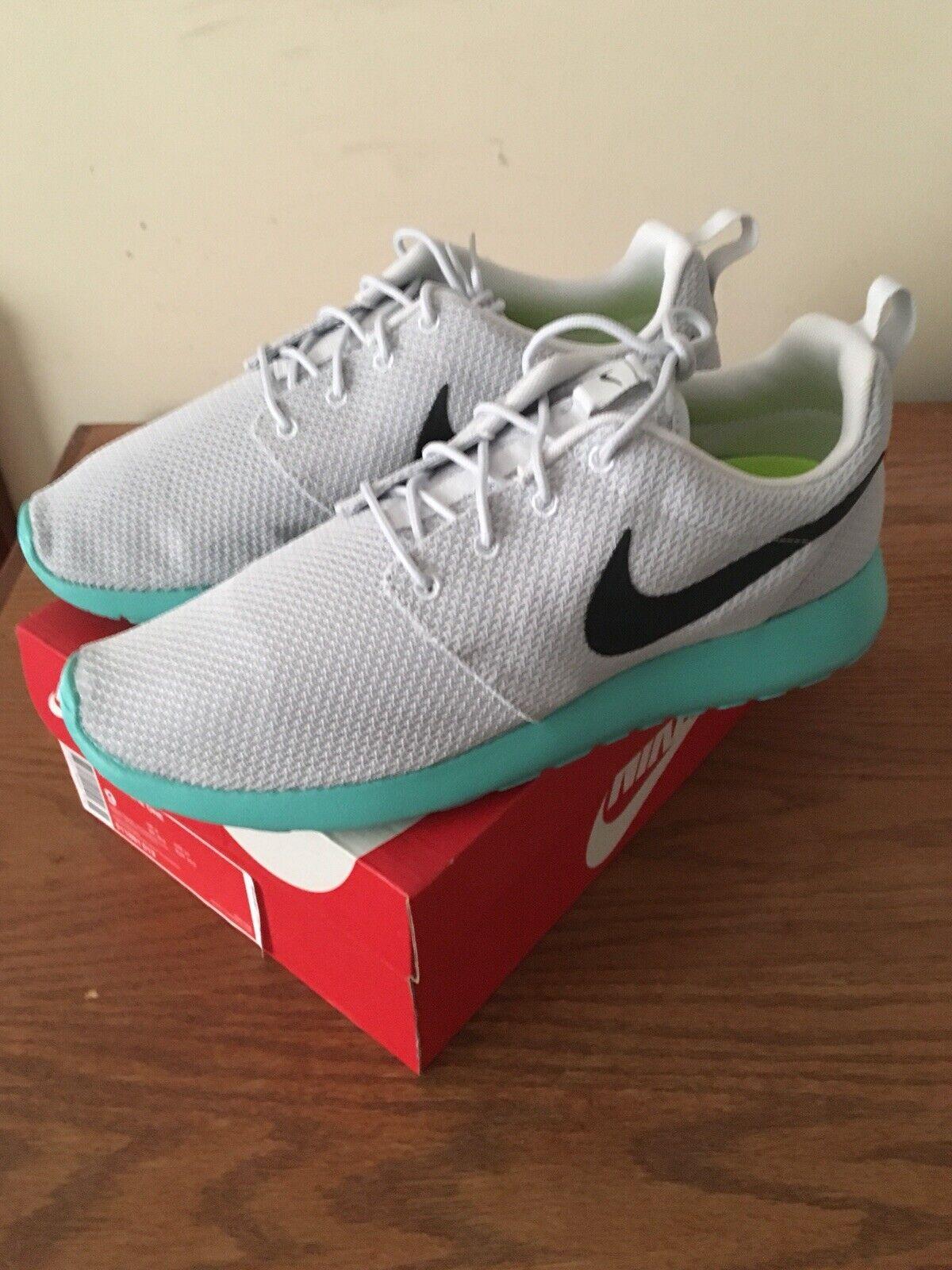 Nike Roshe One Pure Platinum Anthracite Calypso Grey Size 9 511881 013 New
