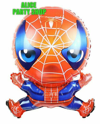 NEW SPIDERMAN Superhero Marvel Avenger LARGE Balloon Party Birthday 24/""