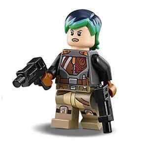 Lego Star Wars Rebels Minifig Minifigure Sabine Wren From ...