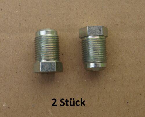 Fermeture vis m12 x 1 unités antithrombine adapté pour unimog 404