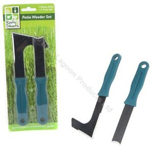 Patio Weeder Tool Set Weed Weeding Remover Garden Paving ...