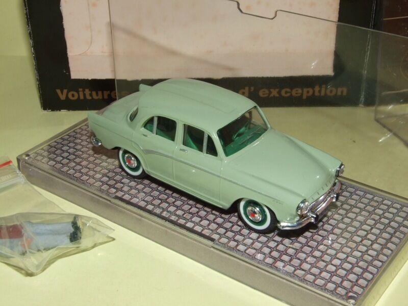 SIMCA P60 1960 Vert NOREV Avec une figurine