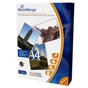MediaRange-A4-CARTA-FOTOGRAFICA-PAT-LUCIDA-220g-100-fogli-MRINK103