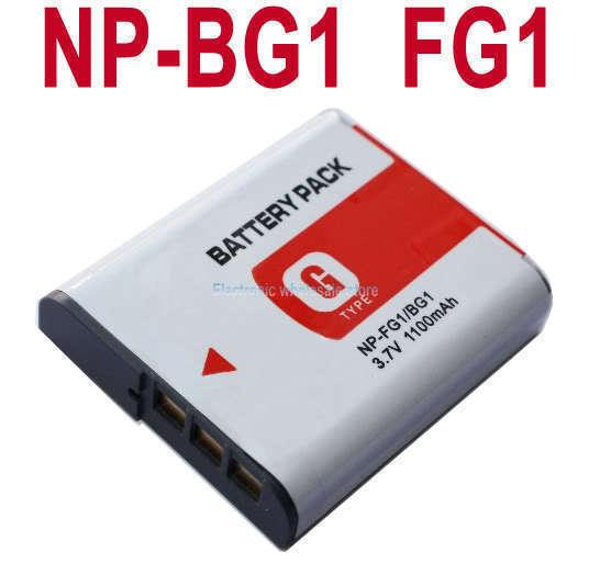 New Battery For SONY Cyber shot DSC NP-BG1 NPBG1 DSC-H90 HX30V HX20V HX10V